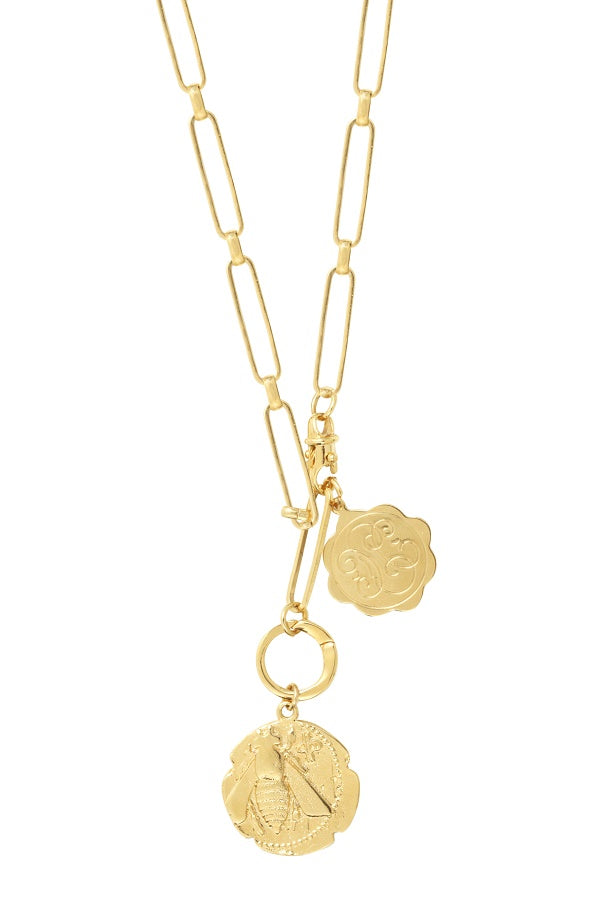 Collier Honey Bee Maillon XL