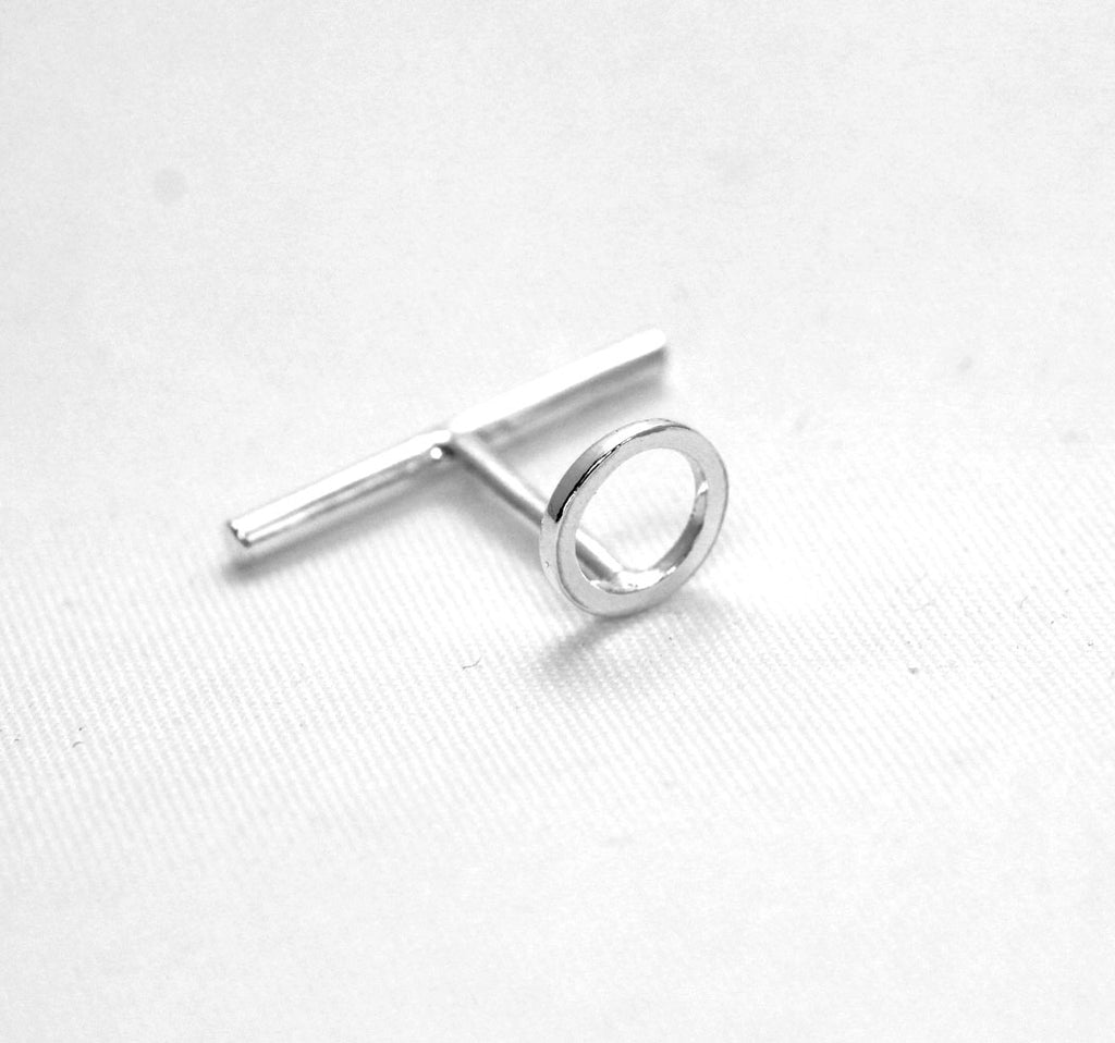 Continuum cufflink unisex in silver by M of Copenhagen