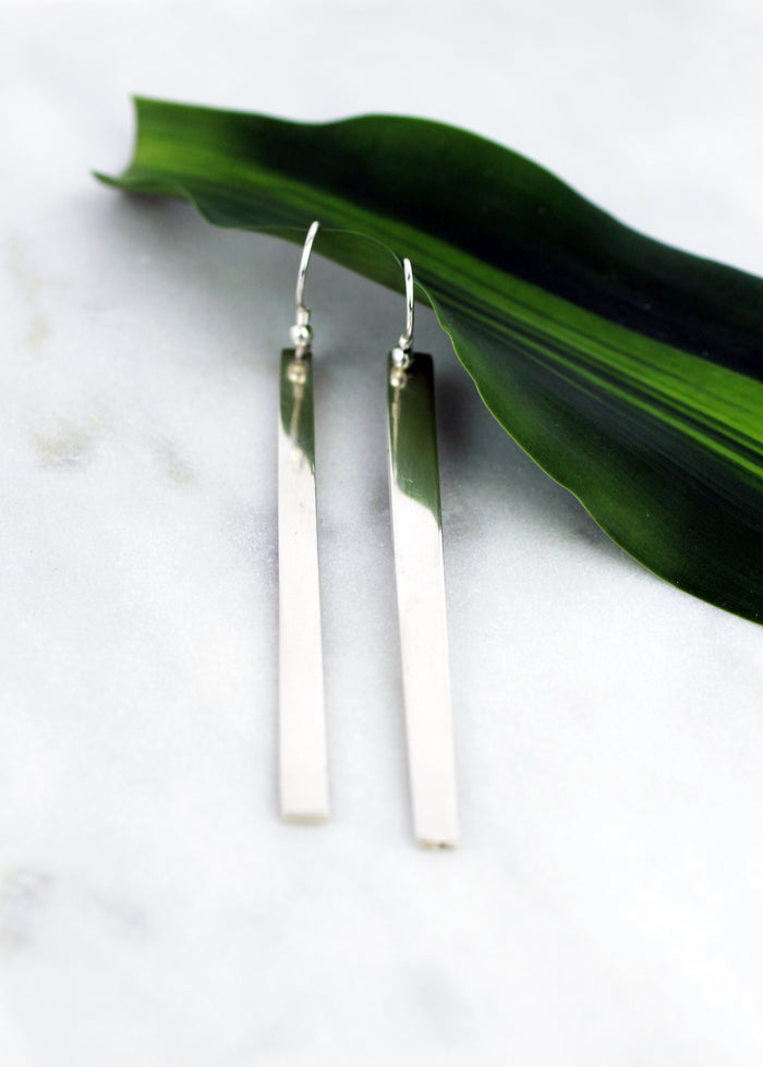 b267a40b2 Divided earrings by M of Copenhagen made from recycled silver