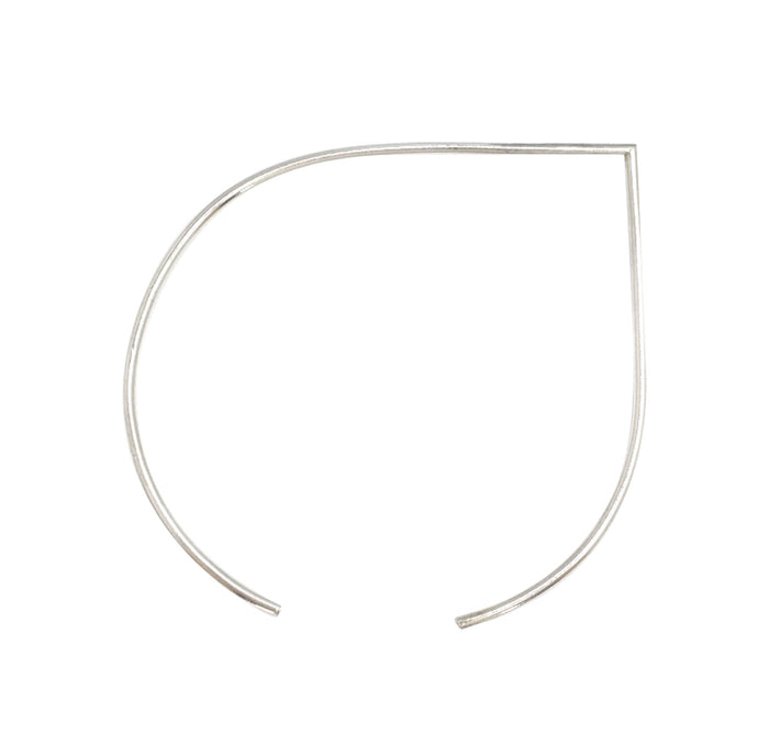 Portofino bangle by M of Copenhagen made with recycled silver
