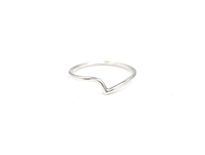Thy ring by M of Copenhagen made with recycled silver