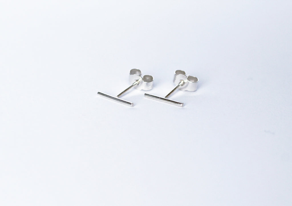 Tundra earrings by M of Copenhagen made with recycled silver