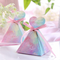 Cotton Candy Pyramid Box (B)