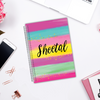 Candy Paint - Customizable Notebook