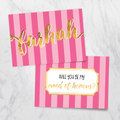 Candy Shop - Bridesmaid Card