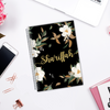 Magnolia in the Night - Customizable Notebook