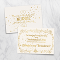 Star Dust - Bridesmaid Card