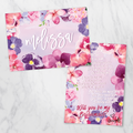 Watercolour Garden - Bridesmaid Card