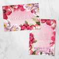 Watercolour Sunset - Bridesmaid Card