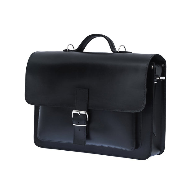 The Ravn - 15 Inch Leather Satchel Bag | Backpack