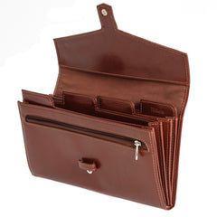 The Fay - Light Brown Leather Travel Etui - Blaxton