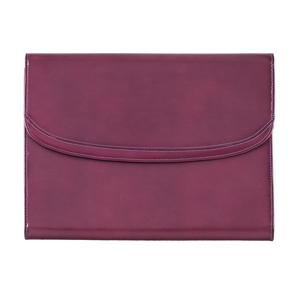 The Maddox - Purple Leather Conference Folio