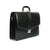 The Kendrick - 16 Inch Leather Large Black Business Bag