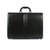 The Kendrick - 16 Inch Leather Large Black Briefcase - Blaxton