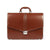 The Kendrick - 16 Inch Leather Large Light Brown Briefcase - Blaxton