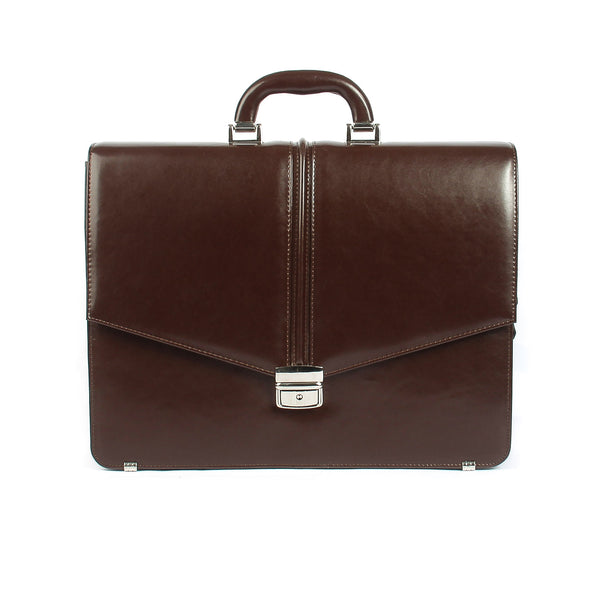 The Kendrick - 16 Inch Leather Large Briefcase