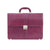 Genuine Leather Purple Ladies Business Case