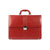 Real Leather Red Ladies Briefcase