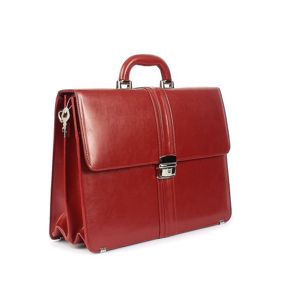 The Kendra - 15 Inch Medium Leather Briefcase