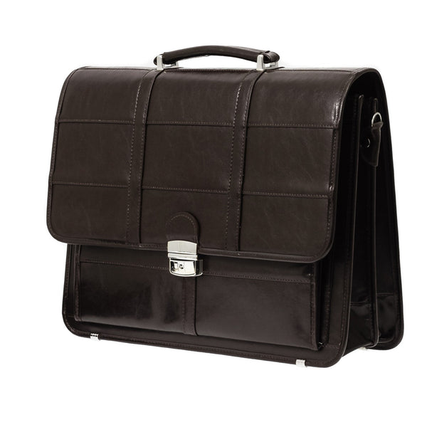 The Bartley  - 16 Inch Leather Business Briefcase