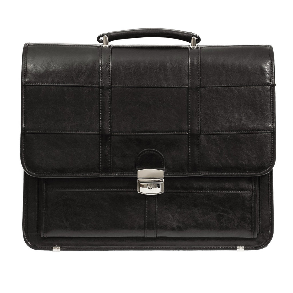 Leather Black Briefcase