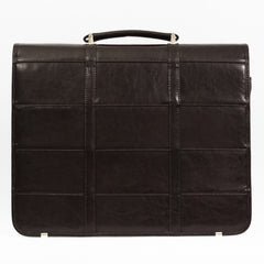 Leather Brown Business Briefcase