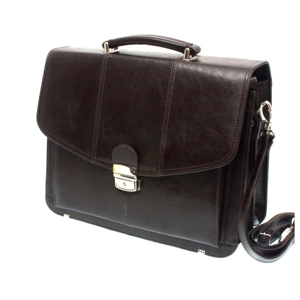 The Batilda - 14 Inch Leather Business Briefcase