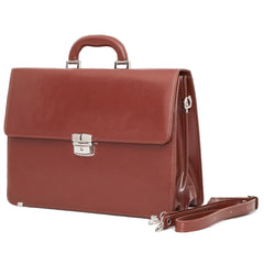 The Ellwood - 15 Inch Leather Medium Briefcase - Blaxton