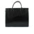Ladies Leather Smart Handbag in Black Colour