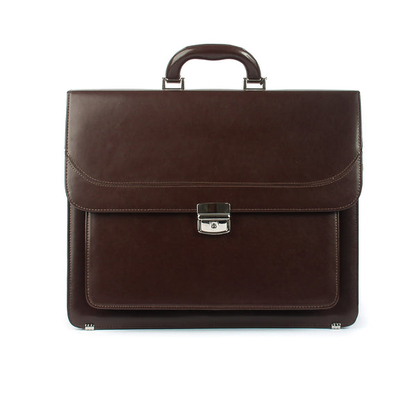 The Arlington - 16 Inch Leather Large Briefcase - Blaxton