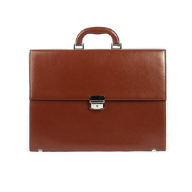 The Hadley - 16 Inch Leather Large Briefcase - Blaxton