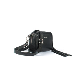 The Eilidh 7 Inch Grained Leather Ladies Crossbody Bag
