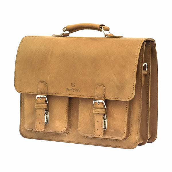 The Weston - Leather Satchel Bag