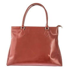 Light Brown Leather Tote Bag from Blaxton