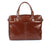 Cognac Genuine Leather Business Bag From Blaxton