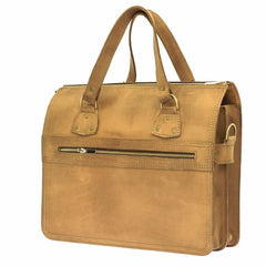 The Corderll - Leather Satchel Bag - Blaxton