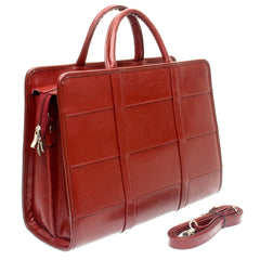 The Cydney  - 15 Inch Leather Ladies Handbag - Blaxton
