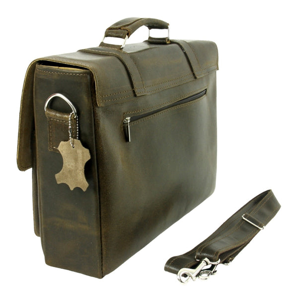 The Dixee - Leather Messenger Bag