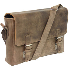 The Alyx - Leather Messenger Bag - Blaxton