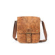The Cassidy - Leather Messenger Bag