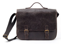 The Arvel - Leather Messenger Laptop Bag