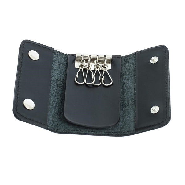 Black Leather Key Holder from Blaxton