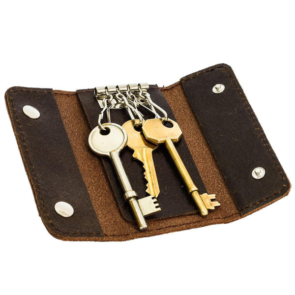 The Reu - Waxed Leather Key Holder