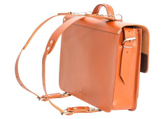 Vegetable Tanned Leather Satchel Backpack from Blaxton