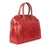 Ladies Calf Red Leather Elegant Work Tote Bag
