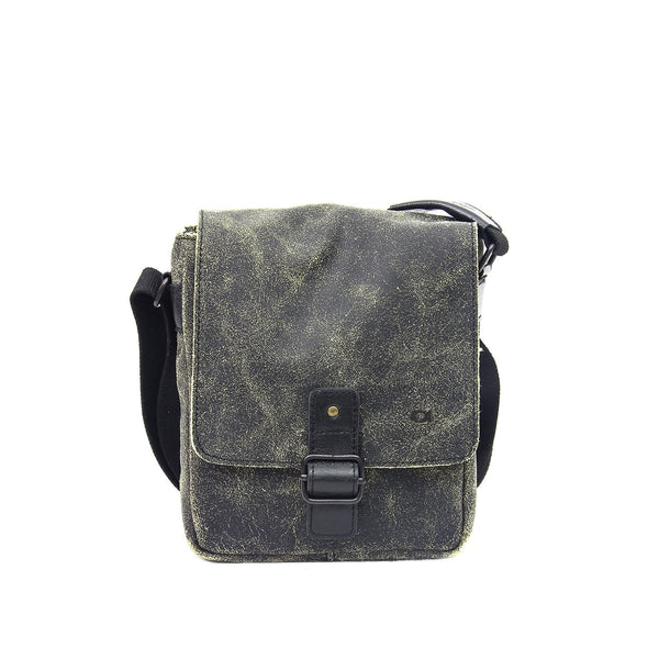 Small Leather Tablet Messenger Bag