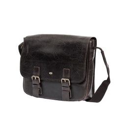 The Parry - Leather Messenger Bag - Blaxton