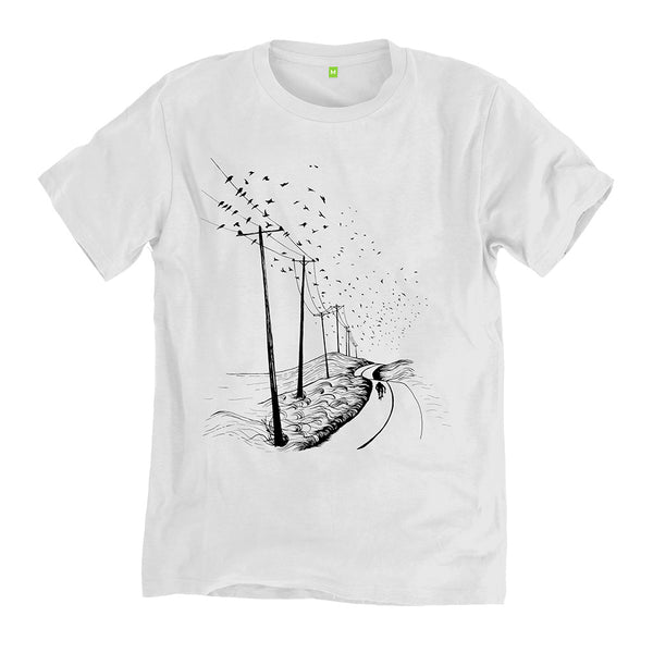 FiFO x Always Riding Roadside Bamboo/Cotton T-Shirt - White