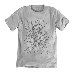 FiFO x Always Riding Spokes Mess T-Shirt - Grey