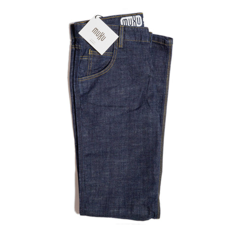 Muxu Ride Japanese Denim Indigo Slim Fit Jean